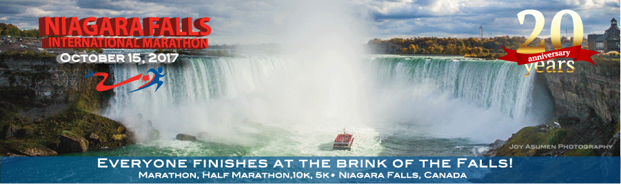 Niagara Falls Marathon Logo