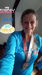 Grimsby Half Marathon Medal