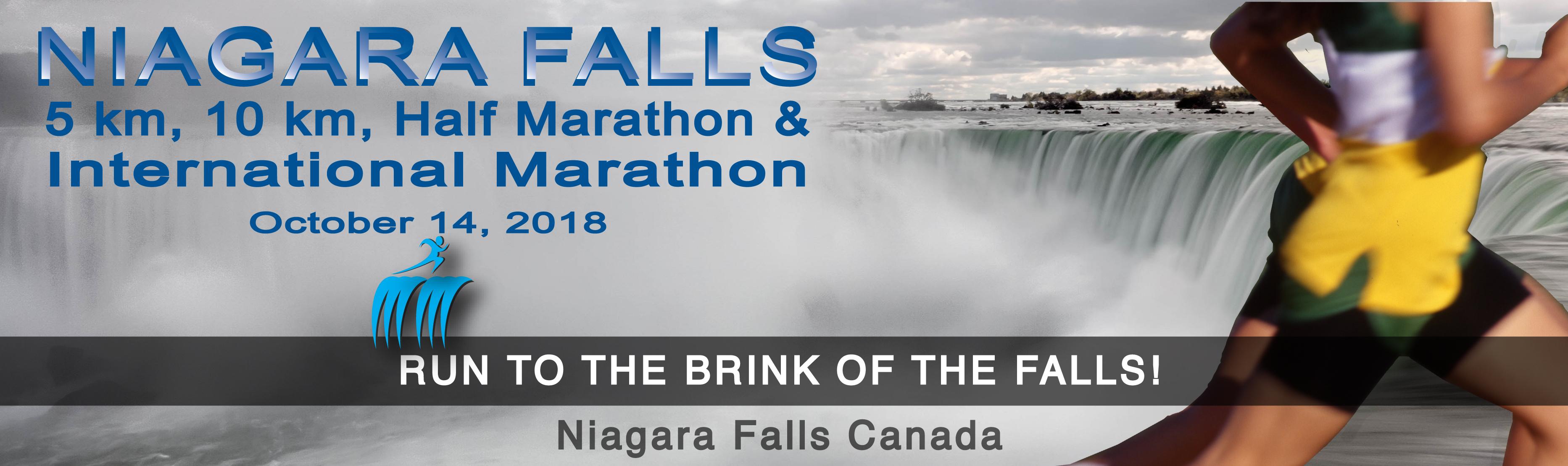 Niagara Falls 5k, 10k, Half & International Marathon Logo